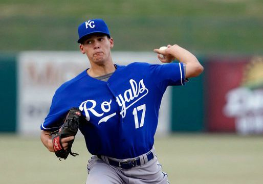 Brian Peacock Drafted by the Kansas City Royals